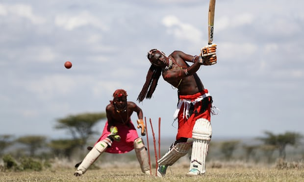 The Maasai Cricket Warriors from Laikipia – in pictures https://t.co/idgF0rPyIT