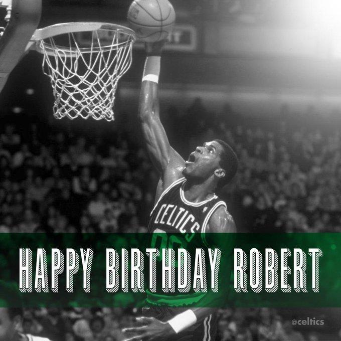 Happy Birthday Legend Robert Parish
