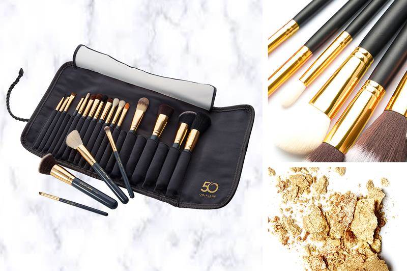 I've already qualified for this set of beautiful make-up brushes #makeupbrush #cosmeticsbrush #beautytools