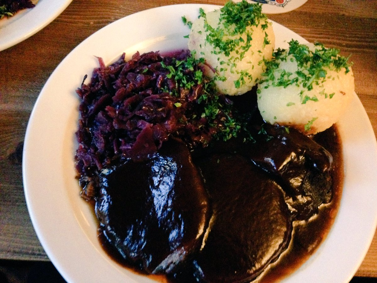 Jeremy Putman On Twitter Traditional German Dinner From Hackethals