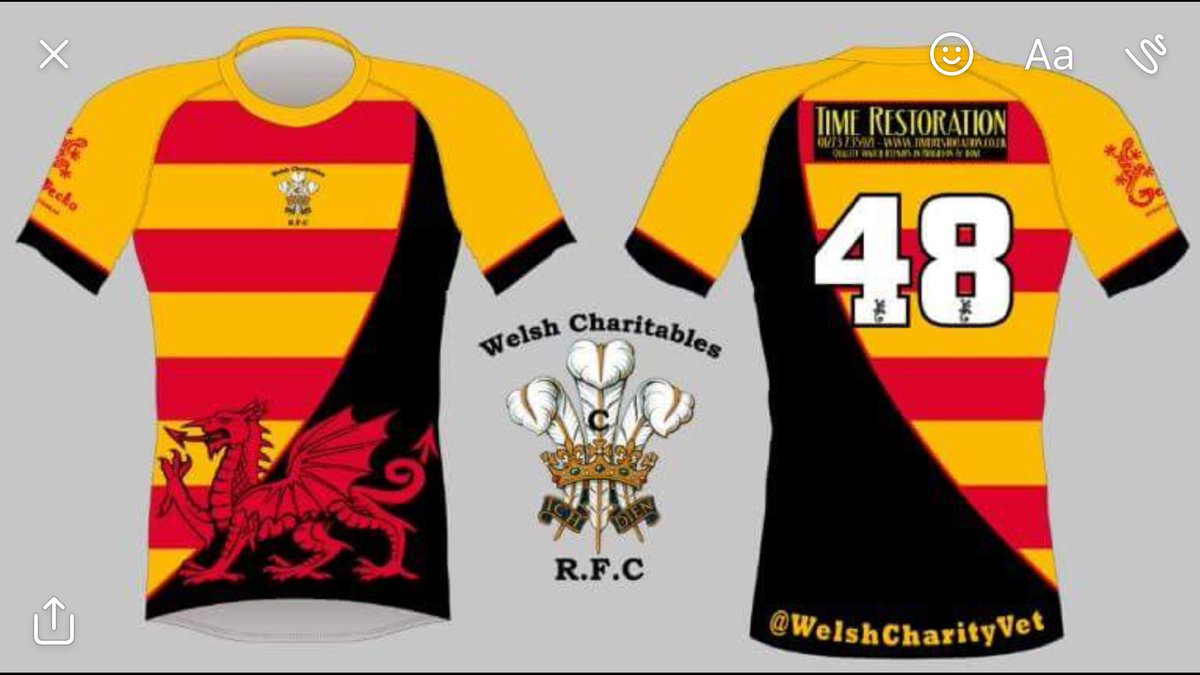 Just heard kit is on its way for @WWHA #Charity #Rugby match 4 @AgeConcernWales #TeamBurns @PenarthRFC #Socksdown #Welsh  #RugbyFamily<br>http://pic.twitter.com/FKV0scZyhP