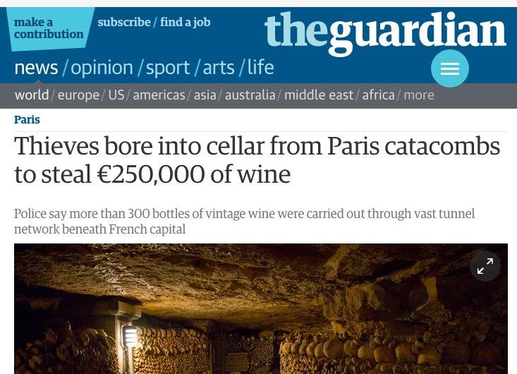 Computer, show me the most Parisian crime possible https://t.co/G45eL3lorU