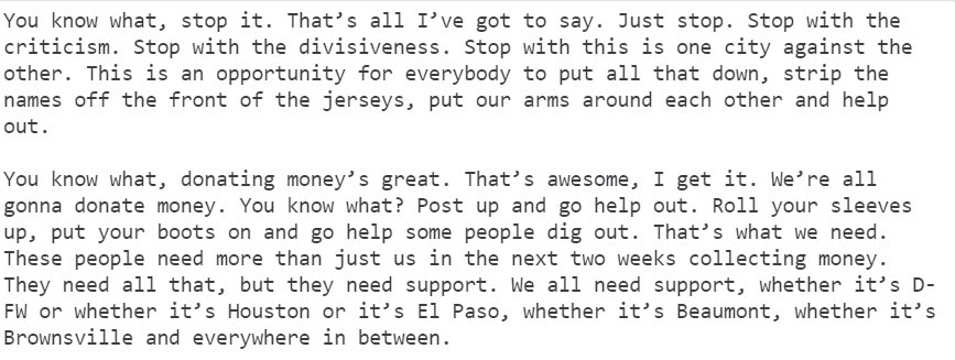 This was Jeff Banister talking about any bickering over the location of this series on The Fan today: https://t.co/Pc8hFgImP1