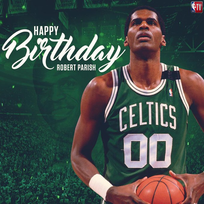 Join us in wishing 9x All-Star and 4x NBA Champ, Robert Parish, a Happy Birthday!
