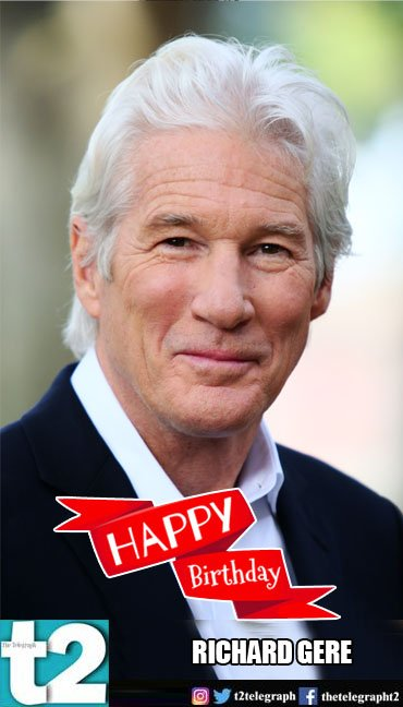 T2 wishes a very happy birthday to the ever charming Richard Gere.