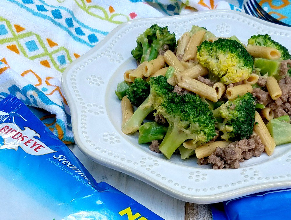 Sneak extra veggies in with this Easy Cheesy Veggie and Meat Skillet #ad #BirdsEyeVegetables https://t.co/qV5xLUlFle https://t.co/FFWebgJZIY
