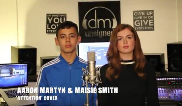 Aaron Martyn and Maisie Smith ATTENTION cover exclusive https://t.co/K4Gxugr5AM New music video premiere!