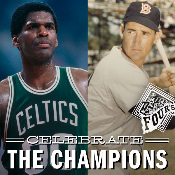 The day legends were born. Happy Birthday Ted Williams and Robert Parish!