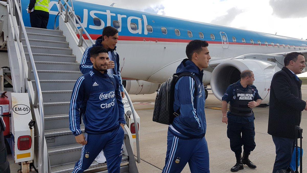 Eliminatorias Rusia | La Selección llegó a Uruguay y Sampaoli ultima detalles