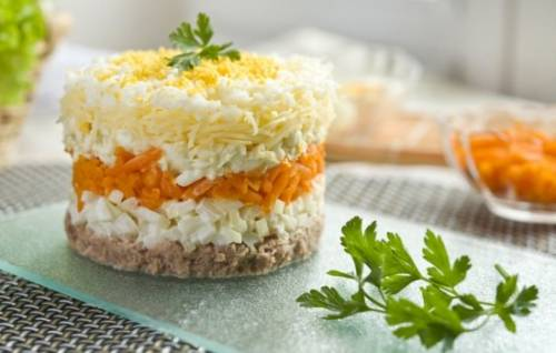 Рецепты салата мимоза с фото пошагово