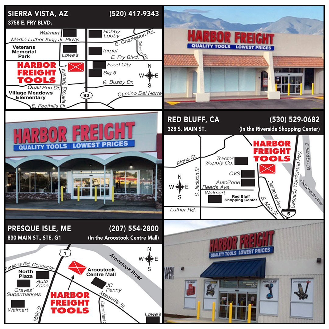 harbor freight tools on twitter announcing new harborfreight
