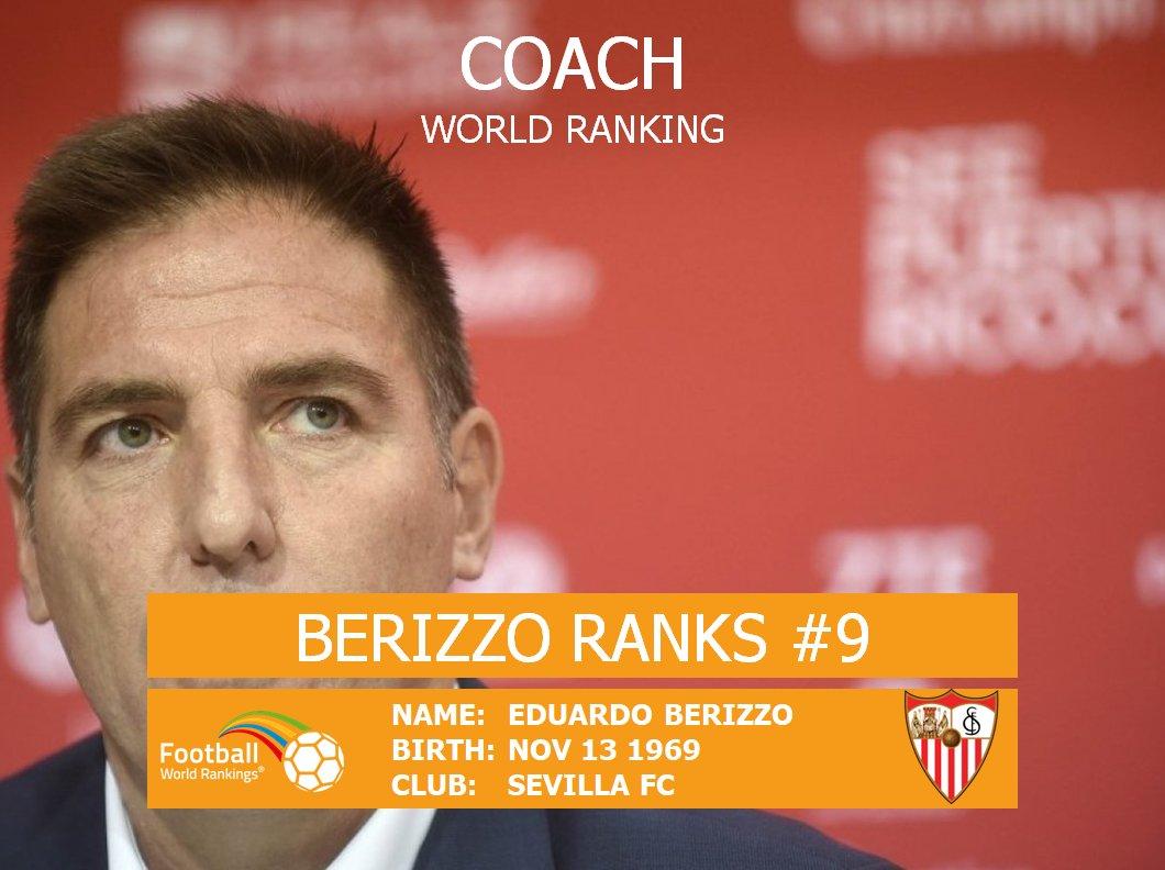 #BERIZZO ranks #9 in the Coach World Ranking:  https:// goo.gl/4BDcvA  &nbsp;  <br>http://pic.twitter.com/6jtCEKyBjm