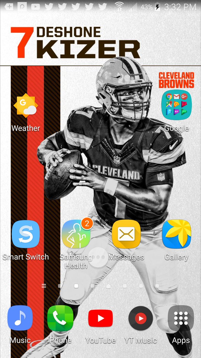 @Browns Thanks for the New wallpaper rea...