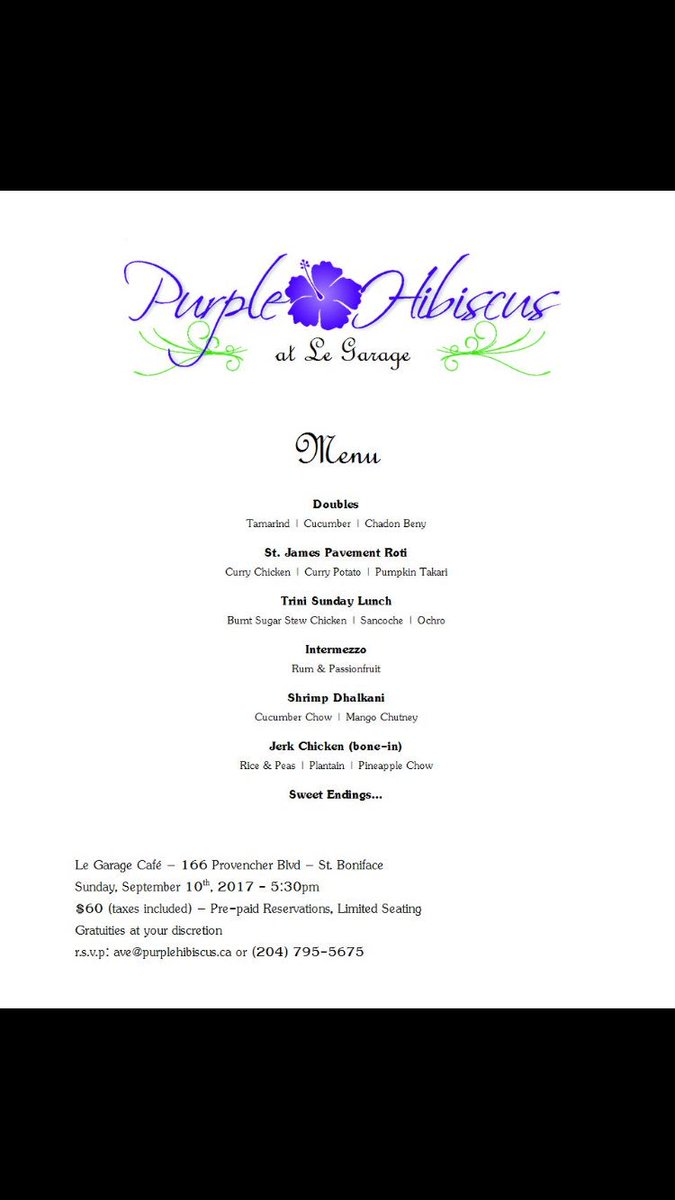 Purple Hibiscus At Purplehibiscus Twitter