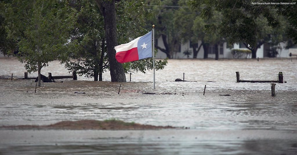 No flood will ever eclipse our Texas flag or our American spirit. #txlege
