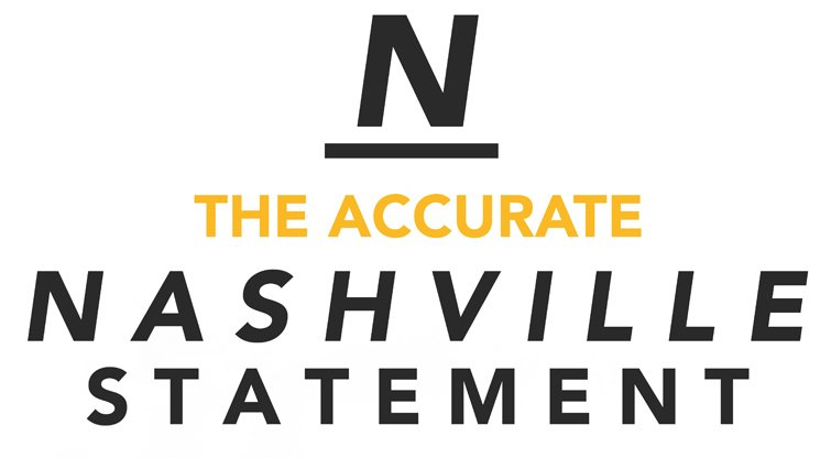 Now here's a #NashvilleStatement we can get behind: https://t.co/0nMhbqYcYG https://t.co/9dgzQ4KKVi