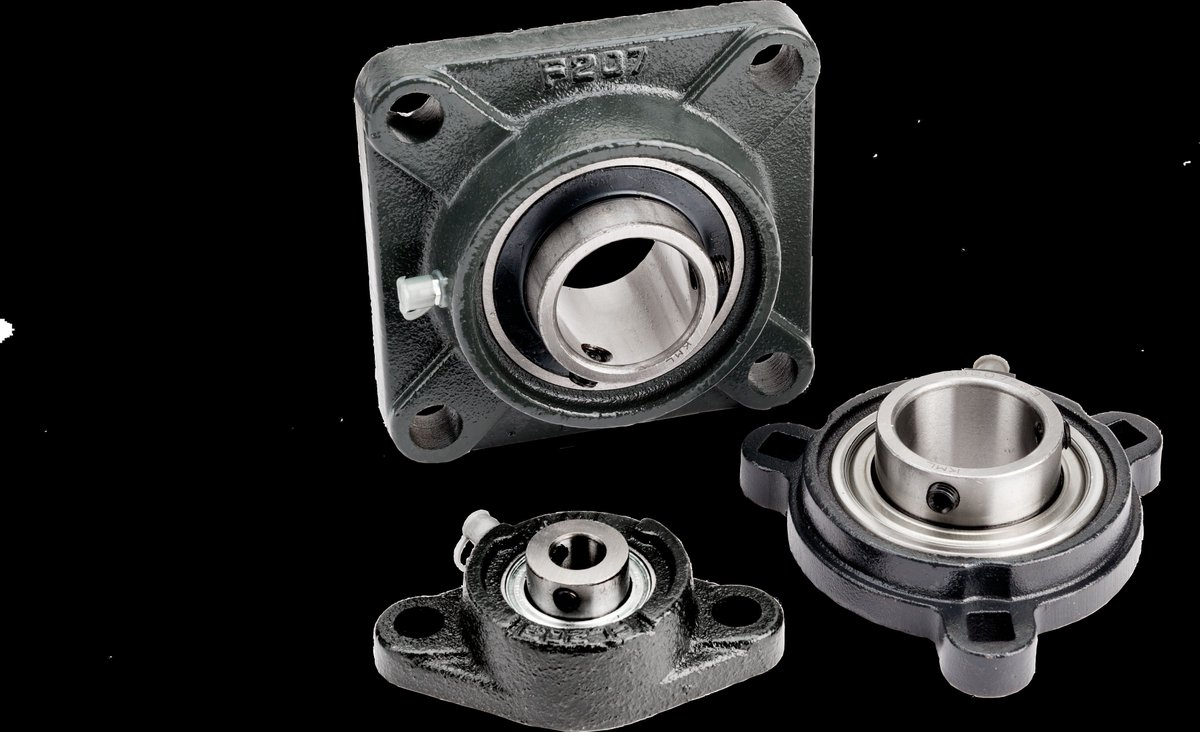 intellicad flange mount bearing Igubal® flange bearings have been developped for the sup - port of shaft ends or for shafts lead-through flange bearing with 2 mounting holes: efom.