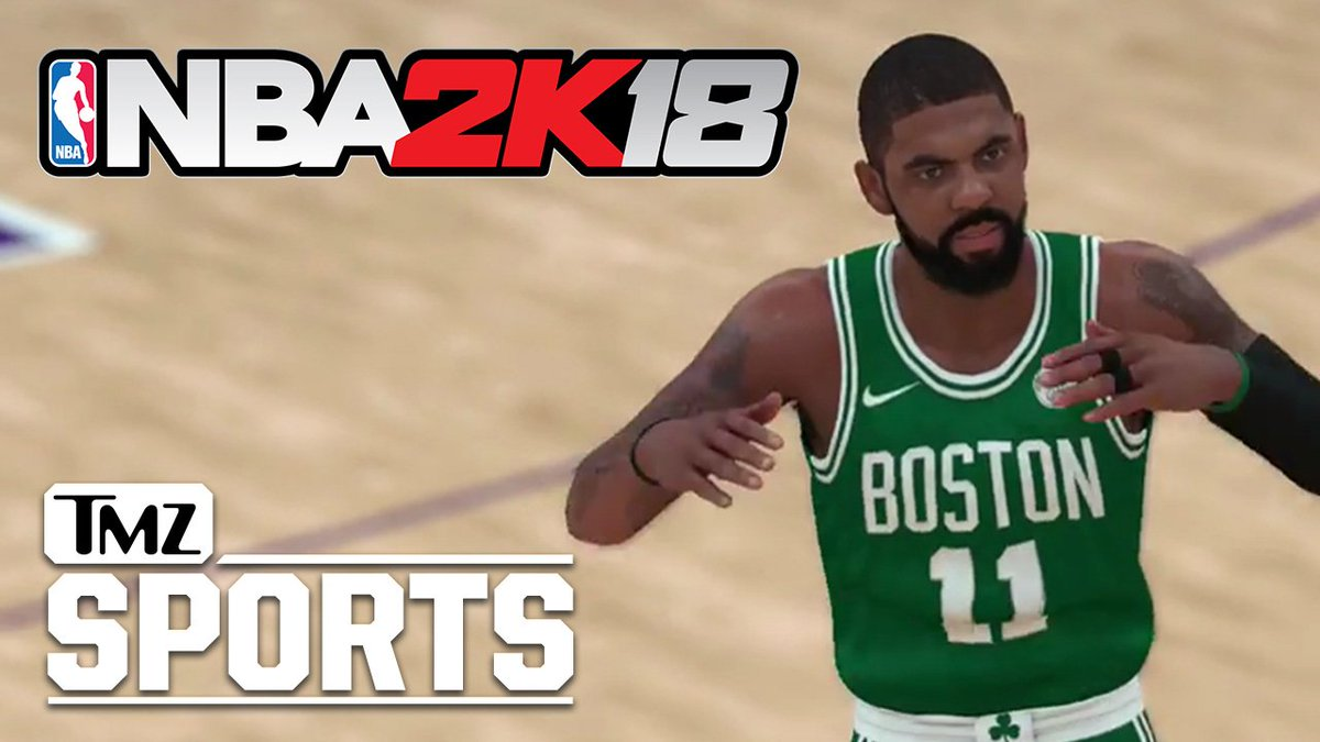 Nba 2k18 is coming out and tmz sports has the top 10 ratings for
