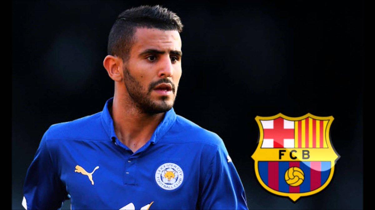 [#Transfert🔄] 🔴 BREAKING !  Selon @tancredipalmeri, Riyad Mahrez va s'engager avec le FC Barcelone. Coutinho resterait à Liverpool.