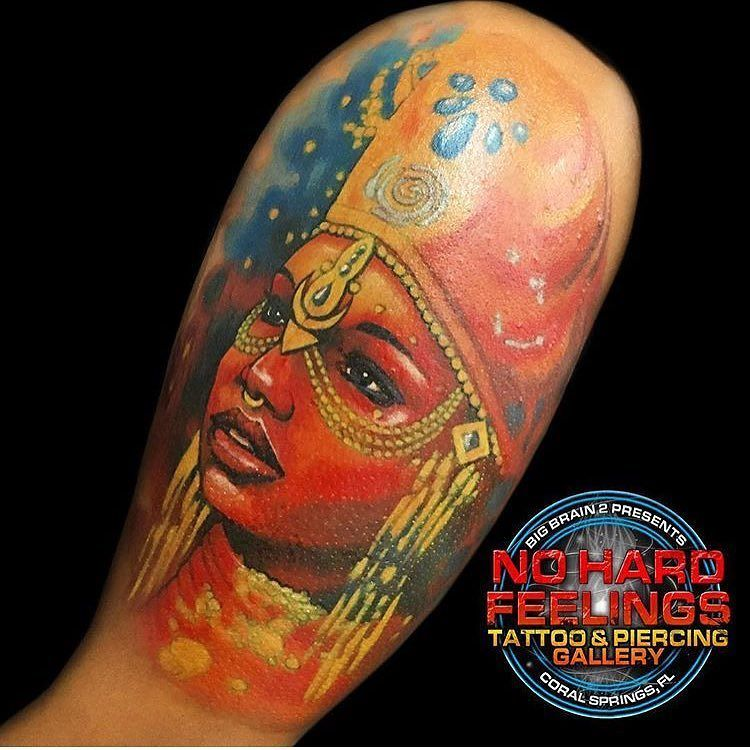 The Caribbean  goddess, Atabey done by @chrisblinstontattoo here @nohardfeelingstattoo . . . . #chrisblinstontattoo #atabey #colortattoo #t…<br>http://pic.twitter.com/2x5XjWZiJA