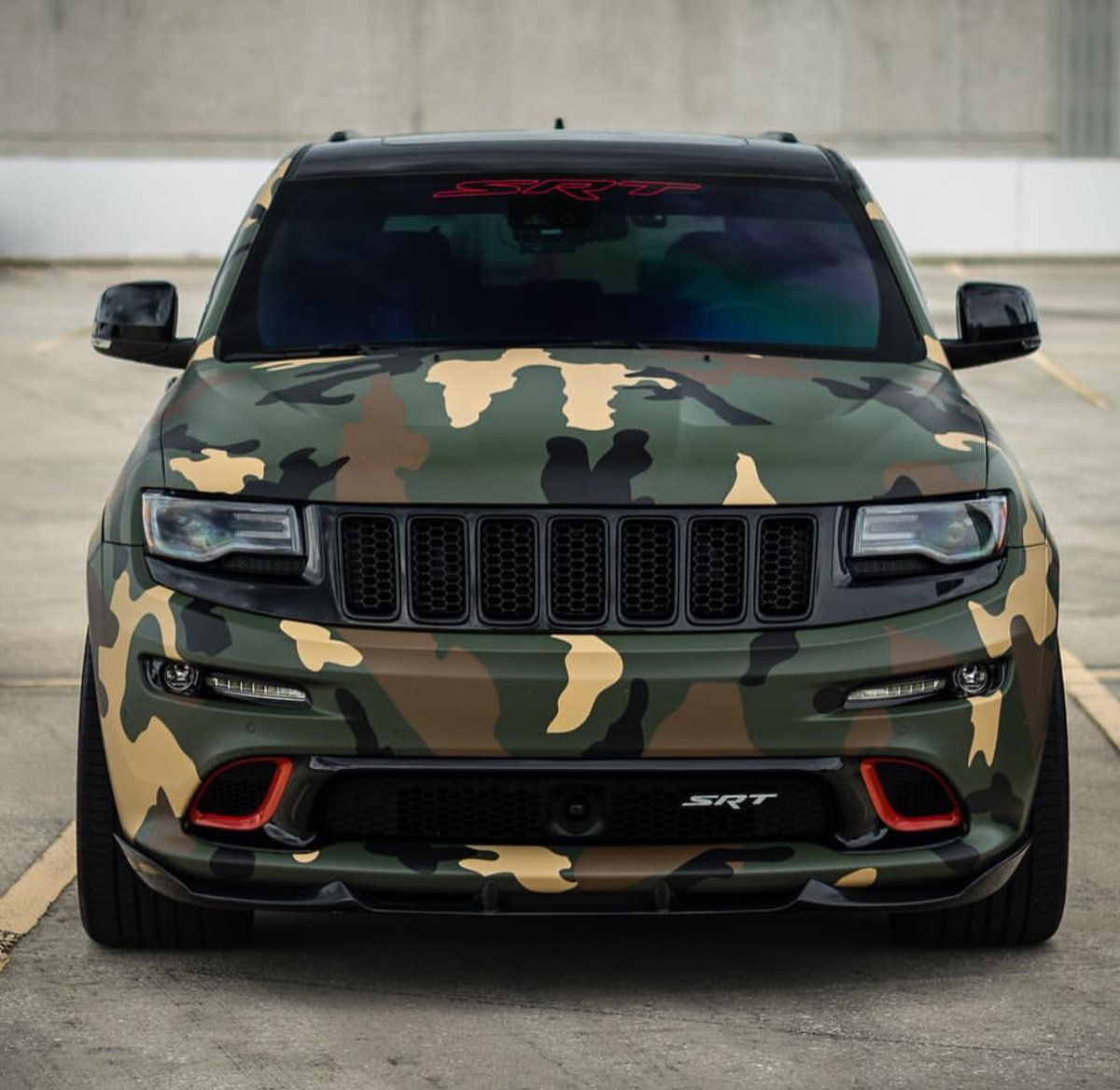 "TORQ ARMY On Twitter: ""🌱Camo Jeep SRT8 🌱 ・・・ #Jeep #SRT"