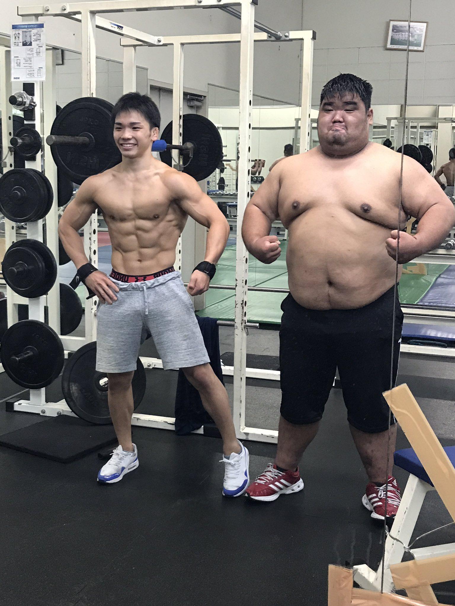 70kg吧_RYUTO NAMIHIRA on Twitter: 決して距離は詐欺してません。 70kgと170kgの ...