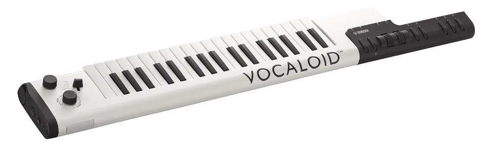 yamaha keytar. you can add up to 4 vocalists sing along (\u201chatsune miku\u201d \u201cmegpoid\u201d \u201cia\u201d \u201cyukari yuzuki\u201d). in order do that connect your vocaloid tablet or yamaha keytar