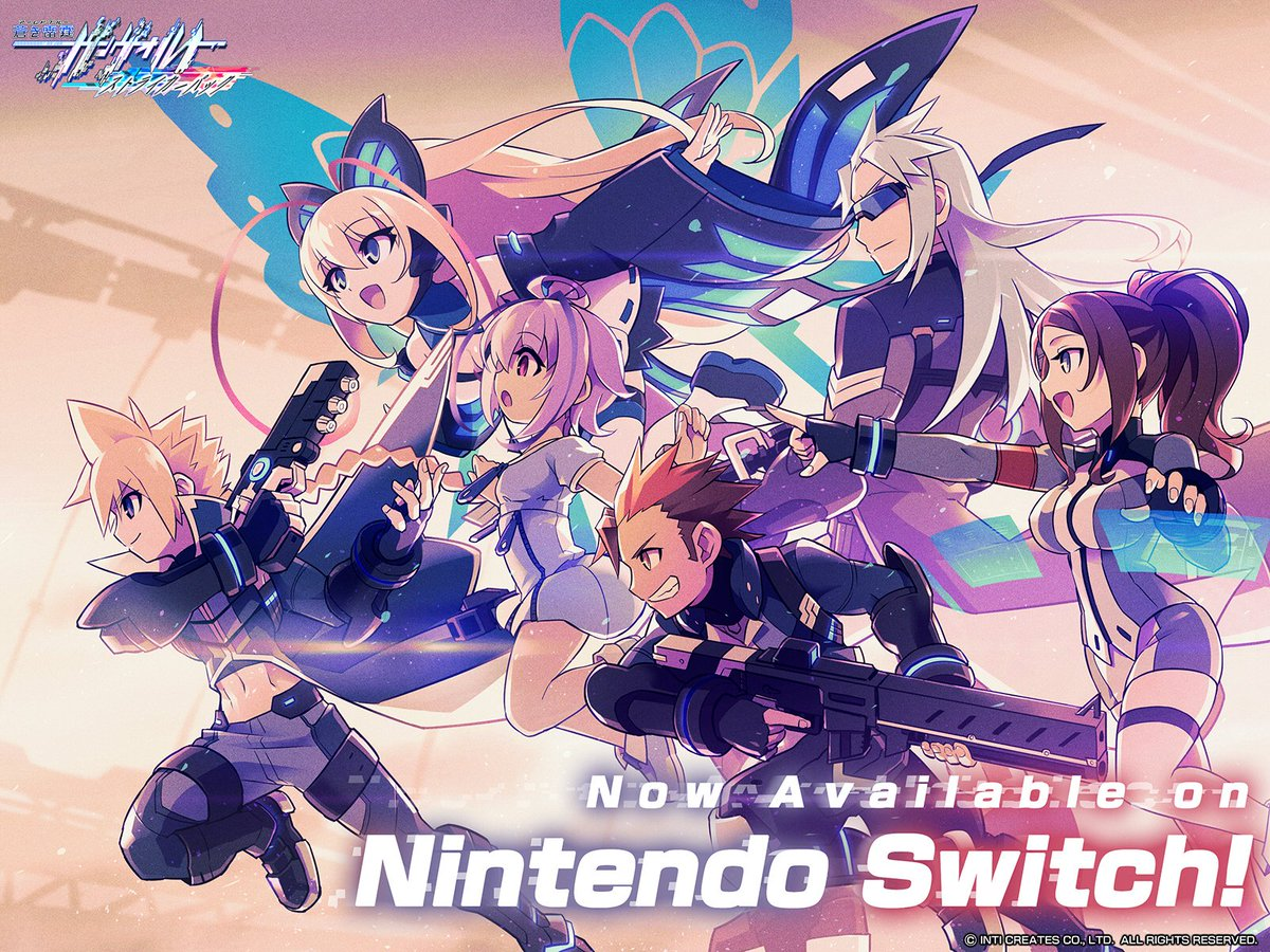 Inti Creates Official Sur Twitter 壁紙 Nintendo Switch