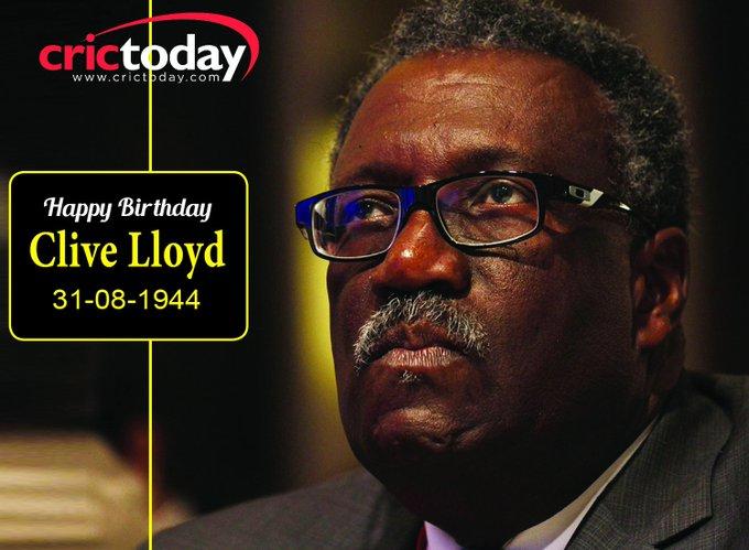 Happy Birthday Clive Lloyd