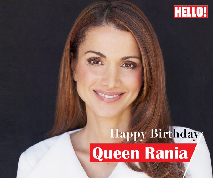 HELLO! wishes Queen Rania a very Happy Birthday