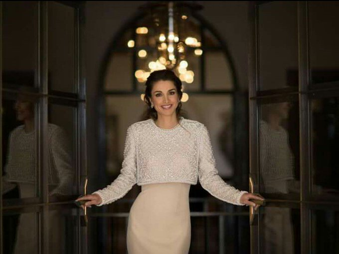 Happy Birthday Majesty Queen Rania  We are proud of having you