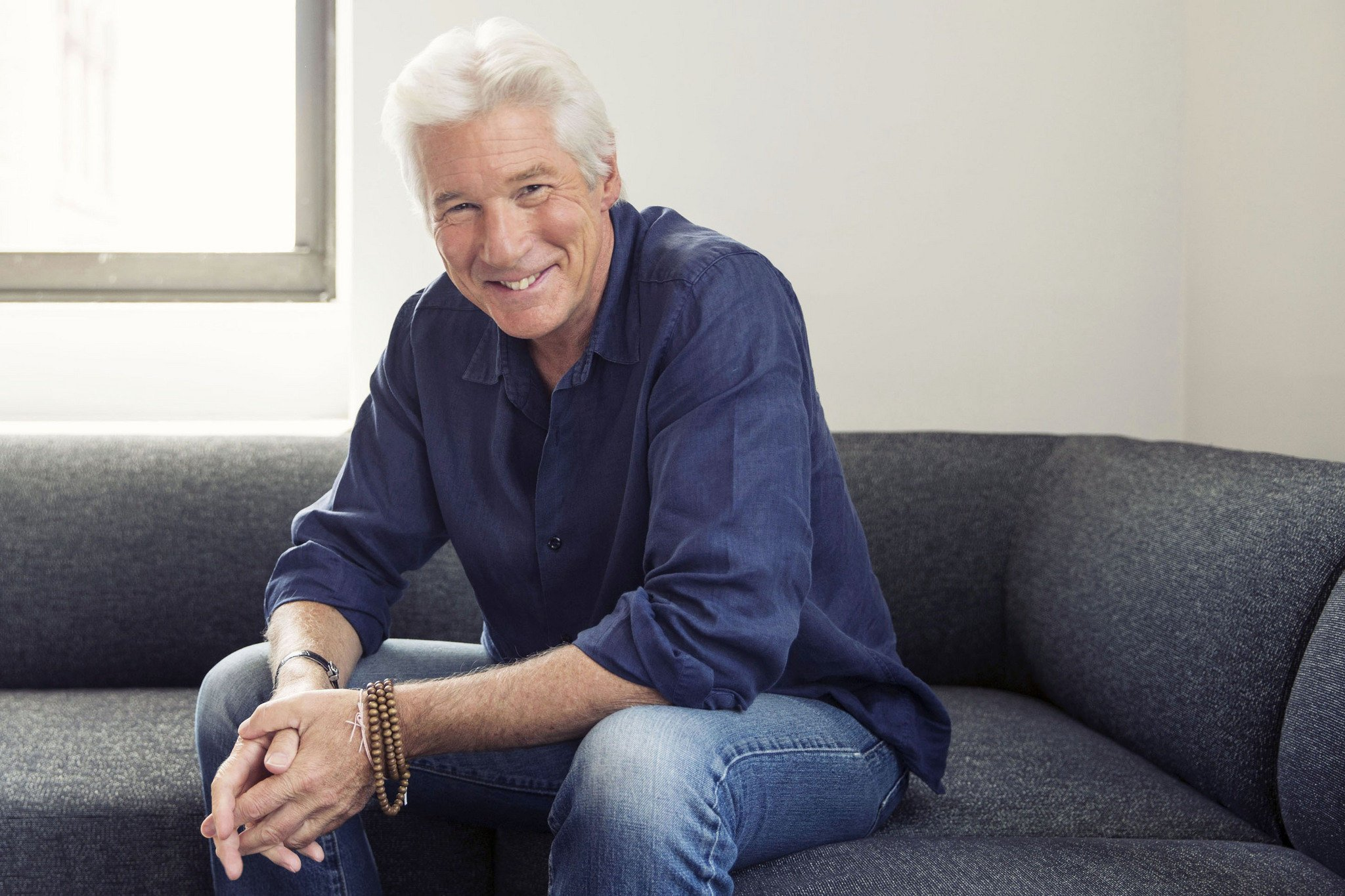 Happy to the \Silver Fox\ - Richard Gere (swoon) Hope you have a special day!