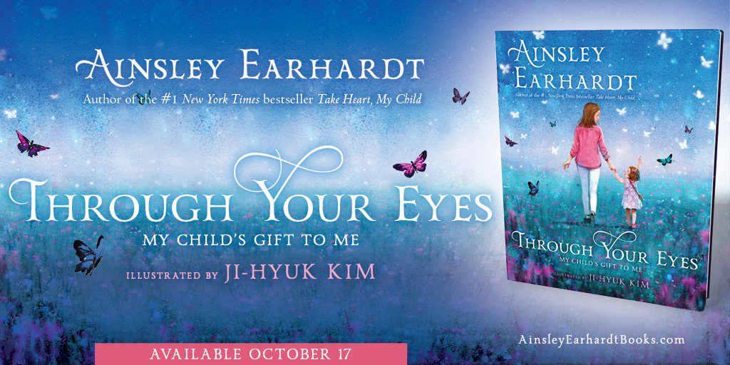 My next picture book THROUGH YOUR EYES will now be available on 10/17. Visit https://t.co/2cpsmI6AOw for more info.