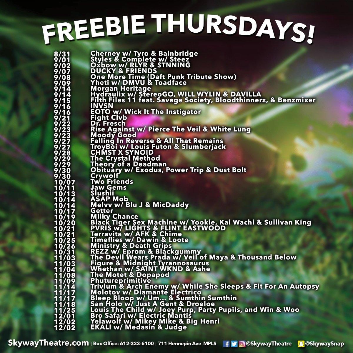 Skyway Theatre On Twitter Freebie Thursday Win A Pair Of Tix 2 Show Follow Us Retweet Pick Tag Friend