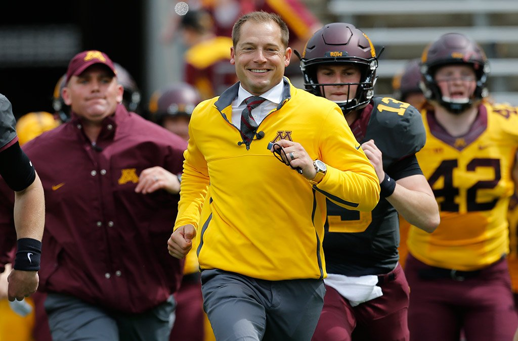 IT'S GAME DAY #GOPHERS FANS!!!!!!!!!!! RT IF YOU ARE FIRED UP TO ROW THE BOAT!!!!!! SKI-U-MAH!!!!!! https://t.co/P3lQHQQrJN