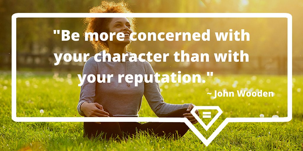 """""""Be more concerned with your character than with your reputation."""" ~ John Wooden #CharacterAboveAllElse https://t.co/ob8C9H4pfH"""