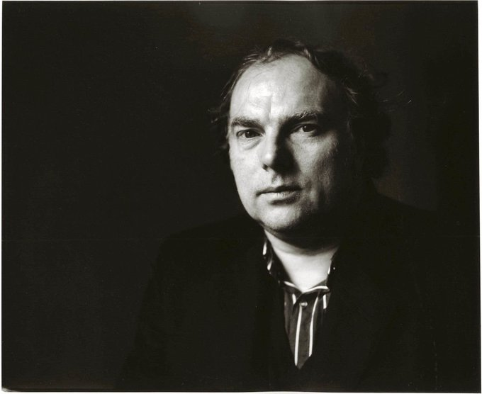 Happy birthday to Van Morrison. Photo by Michael Putland, 1989.