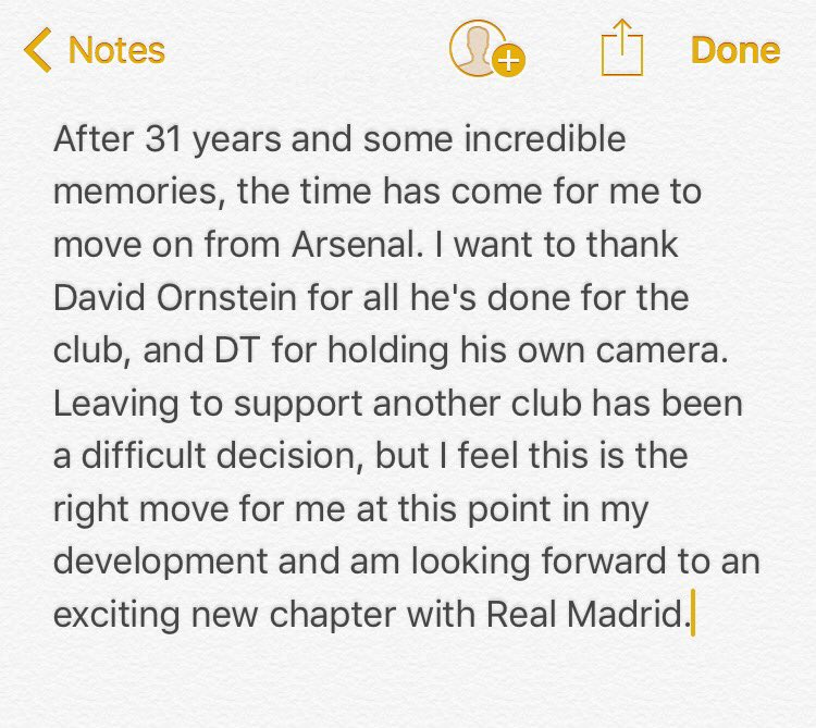 Thanks for everything #AFC.