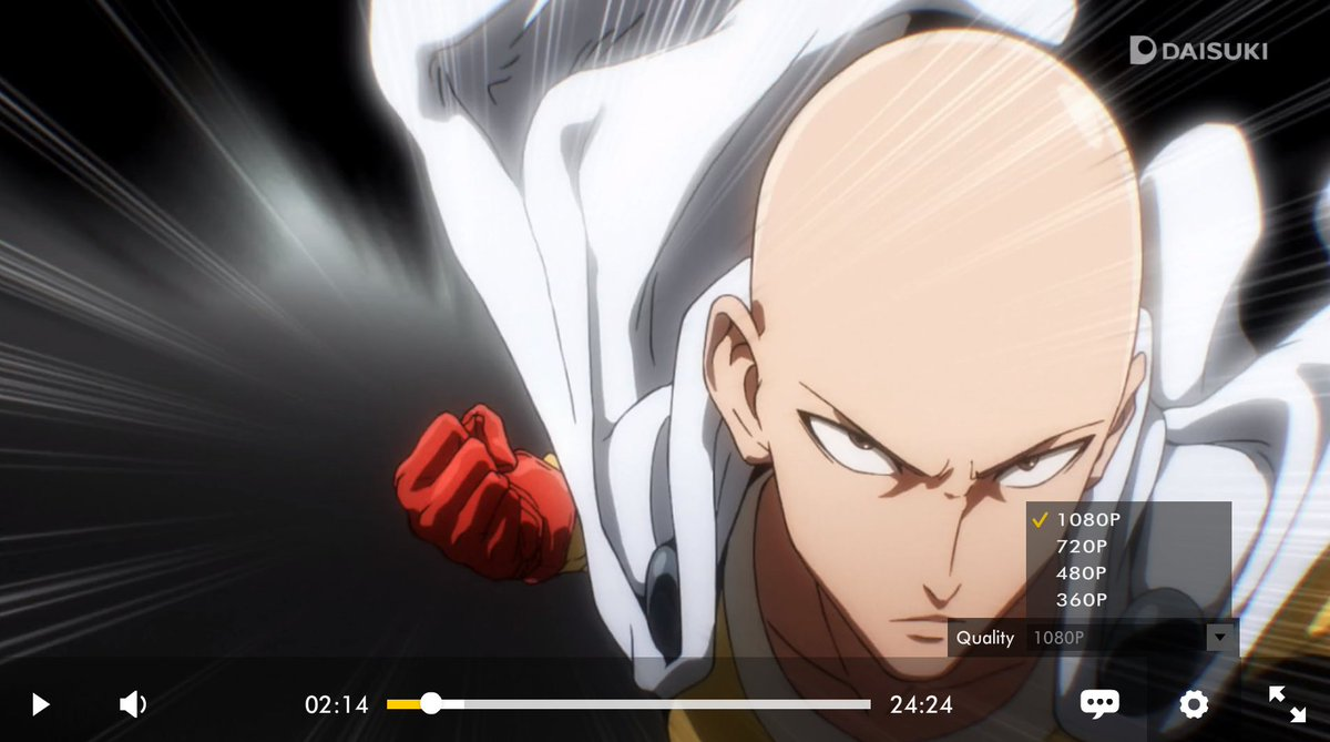 daisuki on twitter watch all episodes of one punch man for free on