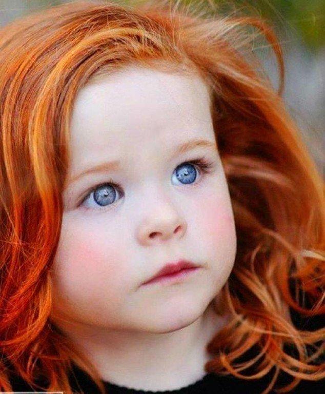 Картинки с рыжими девочками