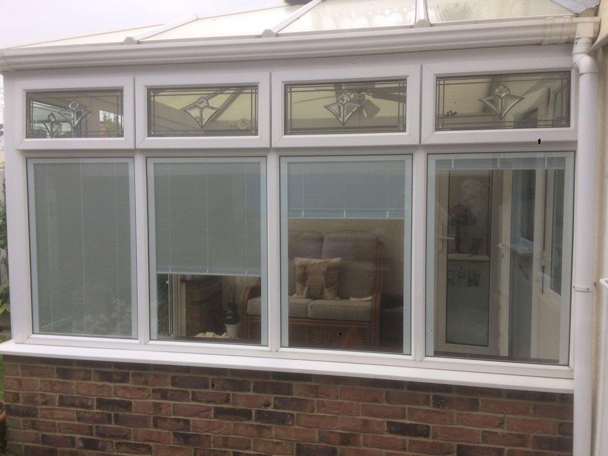 Conservatories concept windows and conservatories essex - Newly Refurbished Conservatory With Sleek Look Internal Blinds System Http Www Greenoakcompany Co Uk 01702238938 Hitech_blindspic Twitter Com Oqzyovxi9l