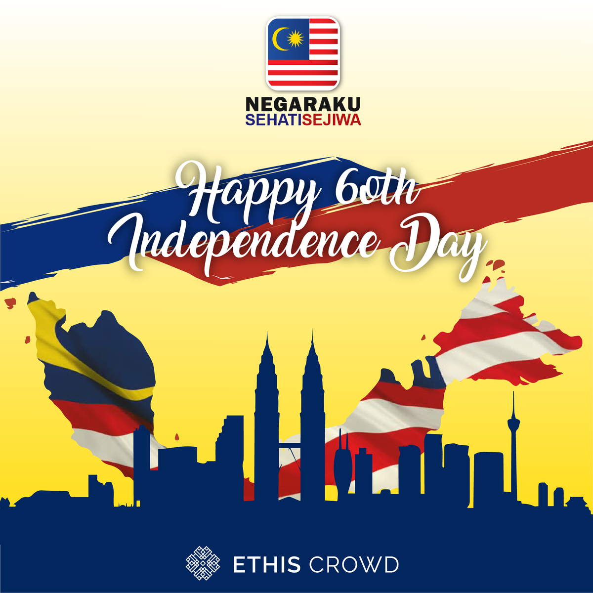 EthisCrowd On Twitter Today We Celebrate Malaysias Independence Day With The Theme Of Negaraku Sehati Sejiwa Or My Country One Heart Soul