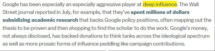 Goolag plays the #DeepInfluence game  https://www. vox.com/policy-and-pol itics/2017/8/30/16226616/barry-lynn-google-new-america &nbsp; … <br>http://pic.twitter.com/8dpTPcAJPm