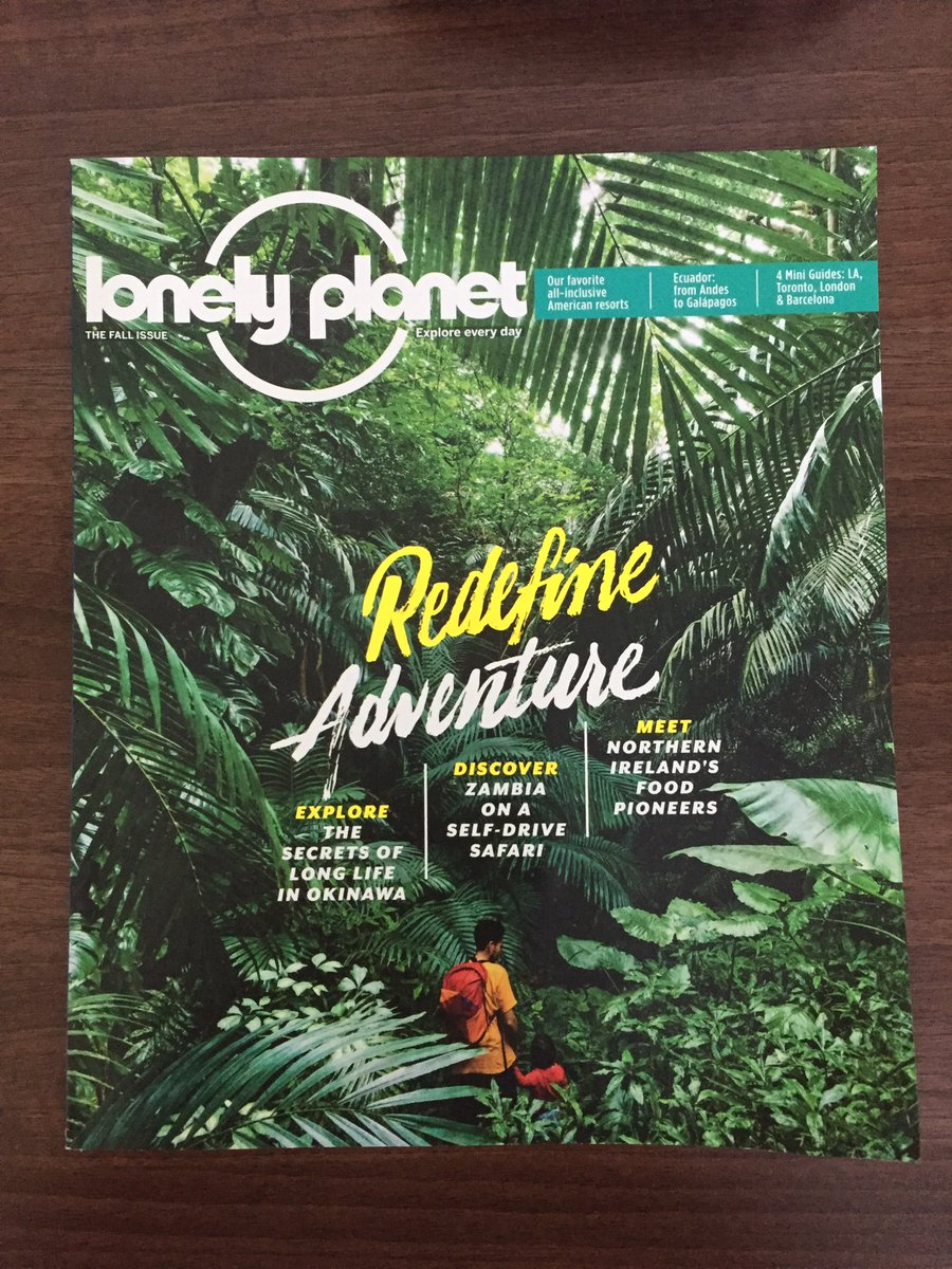 Excited that my #foodie #travel story on #NorthernIreland is in the #US edition of #LonelyPlanet #Magazine @NITouristBoard @TourismIrelandpic.twitter.com/ ...
