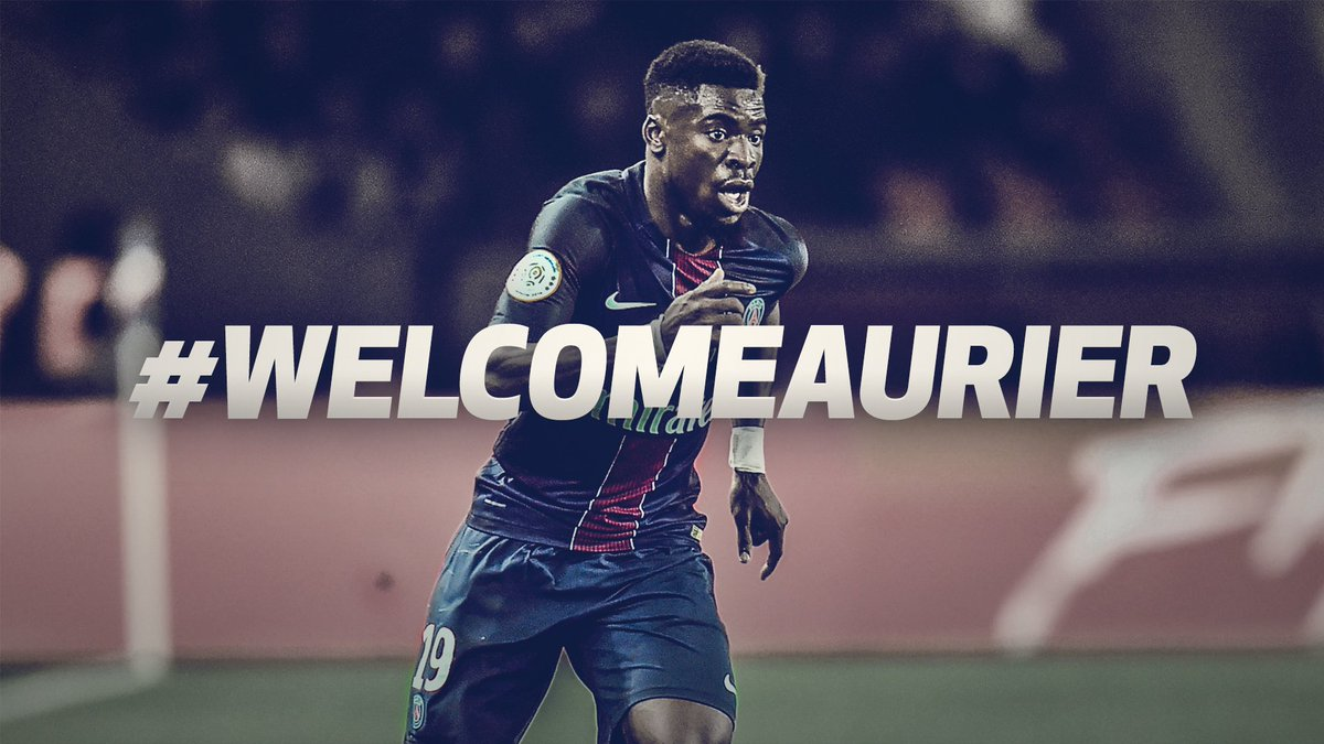 We are delighted to announce the signing of @Serge_aurier from Paris Saint-Germain. ✍️   #WelcomeAurier https://t.co/VUwvROyUK4