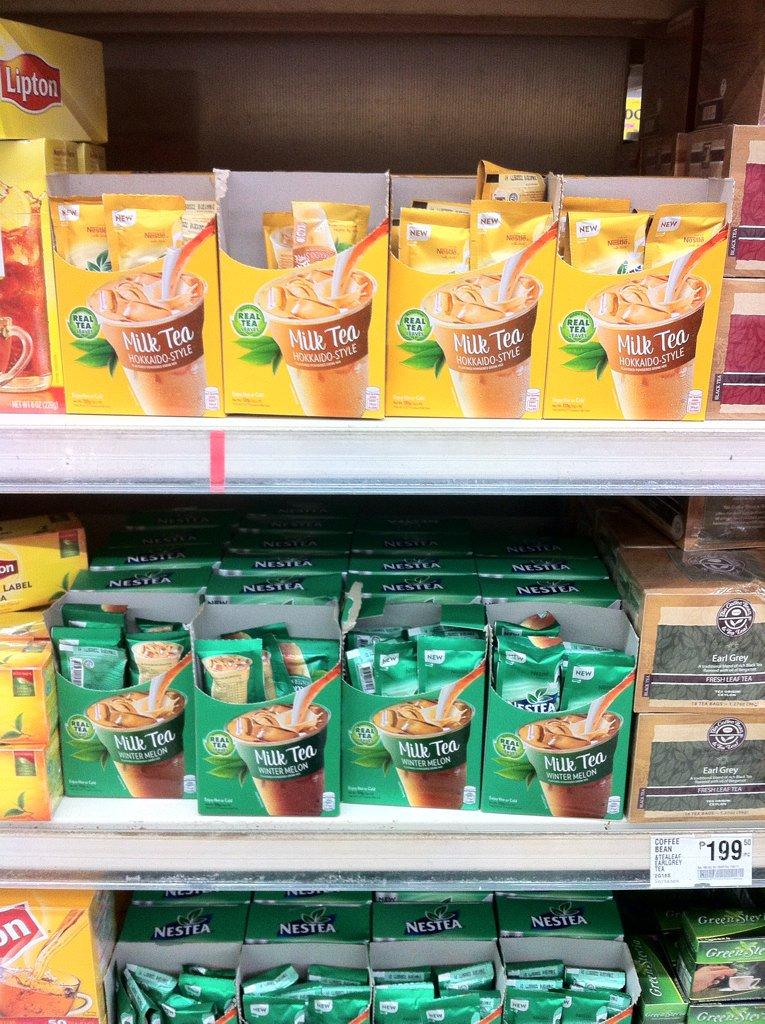 Sa wakas meron na sa supermarkets! ❤️❤️❤️#Nestea #Milktea #NesteaMilktea https://t.co/9MEFPq8SiF