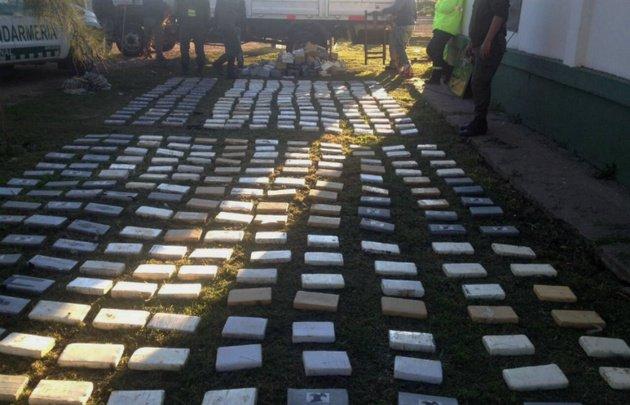 Golpe al narcotráfico | Secuestraron 700 kilogramos de cocaína en Venado Tuerto