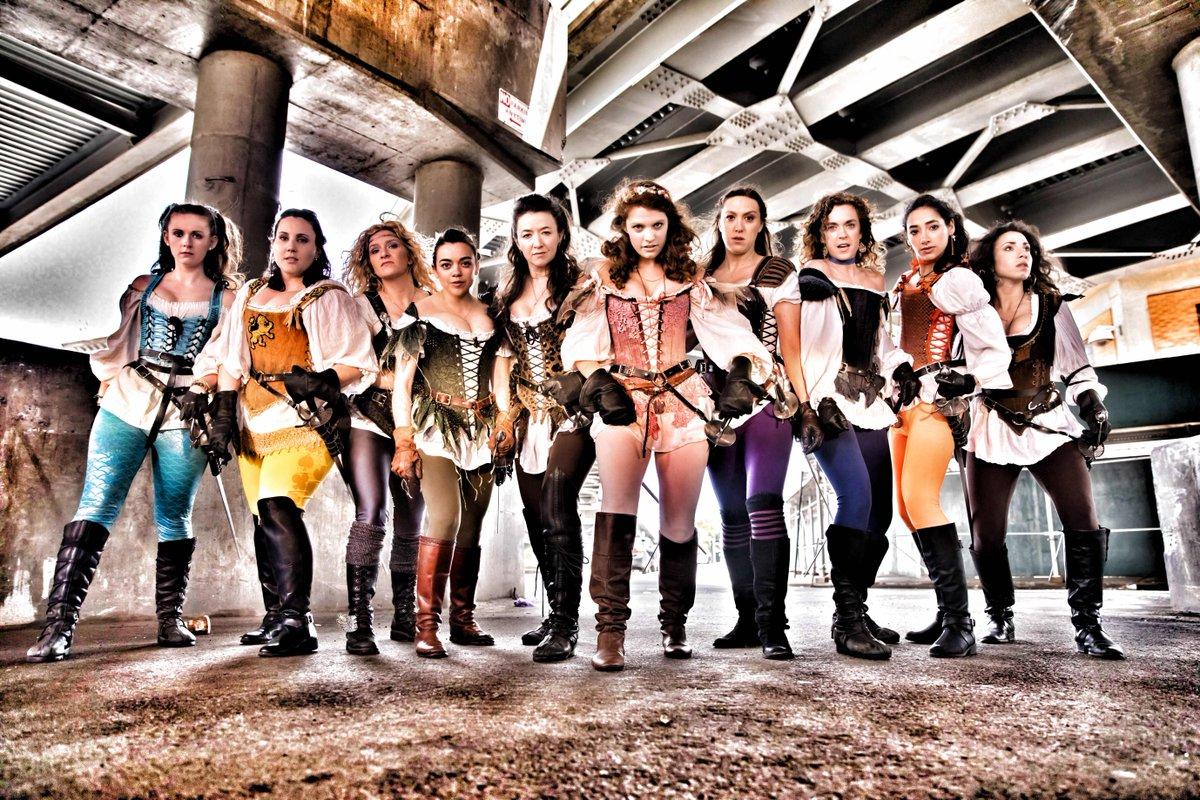 The Guardians of Gotham...The Vixens En Garde. #Thalassa #Cyrene #Atalanta #Persephone #Pandora #Melete #Athena #Hera #Alectrona #Ourania<br>http://pic.twitter.com/x56NzkdQtc