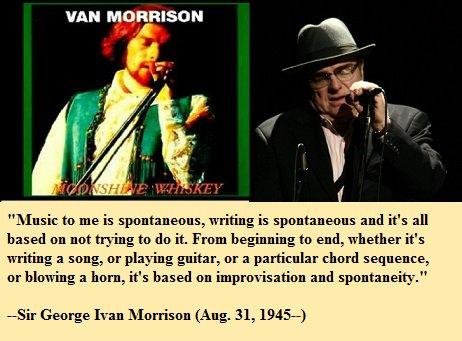 Happy birthday, Van Morrison!