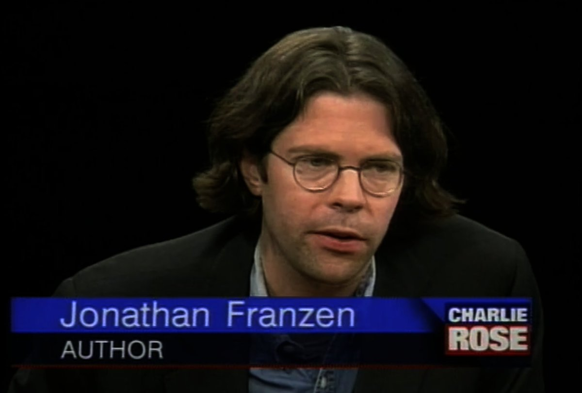 1. An unavoidable fact of the Charlie Rose archive is that 90s writers brought the Looks https://t.co/arP1cNNH2L